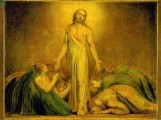 William Blake - Christ appears to apostles after resurection