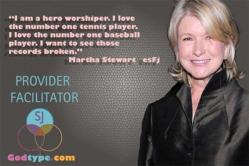 Martha Stewart ESFJ