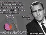 Rod Serling ENFP Quote