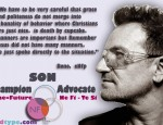 Idealist - Jesus - Type Bono of U2
