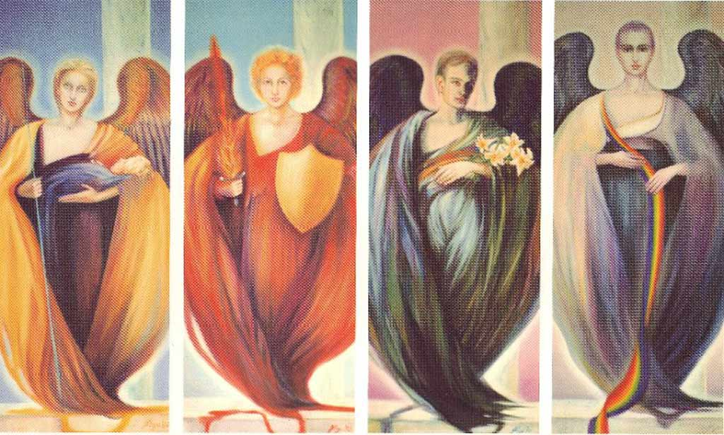 The 4 Arch Angels - intj, intp, entj, entp