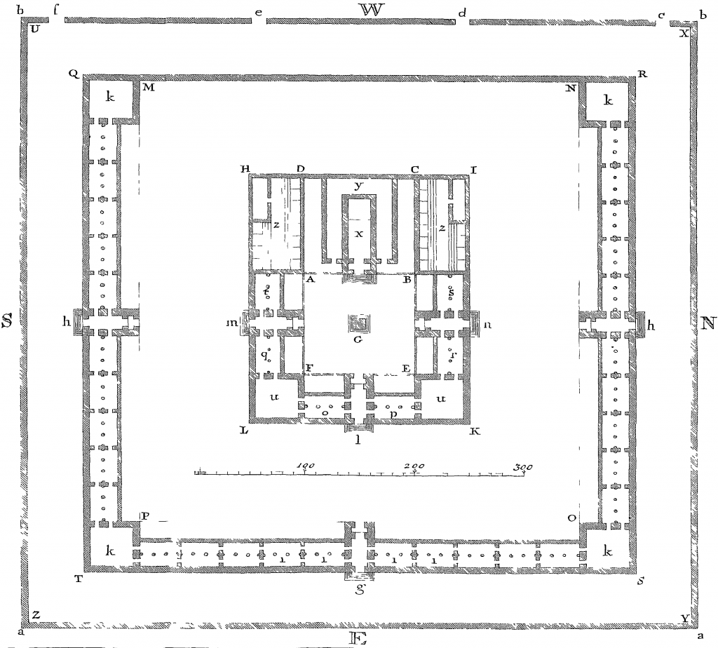 Temple of Solomon Illustrations by Newton