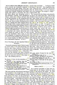 James Glentworth Butler Chronology. Click on Image for larger file